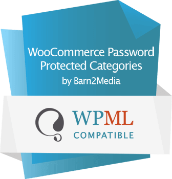 WooCommerce Password Protected Categories WPML