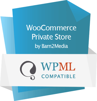 WooCommerce Private Store WPML