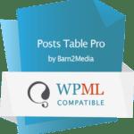 WordPress table plugin WPML compatible