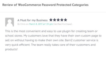 WooCommerce protection for schools review