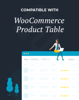 WooCommerce Product Table Compatibility Program Logo