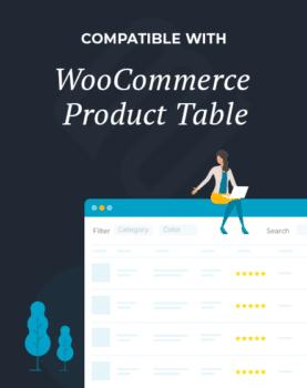 WooCommerce Product Table Compatibility Program Logo