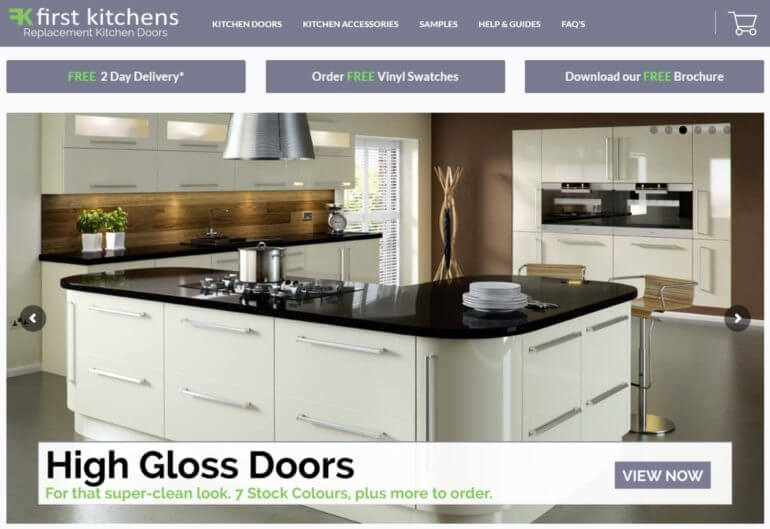 The First Kitchens website.