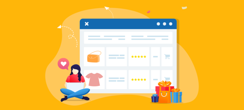 WooCommerce product list view