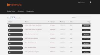 WooCommerce music store plugin