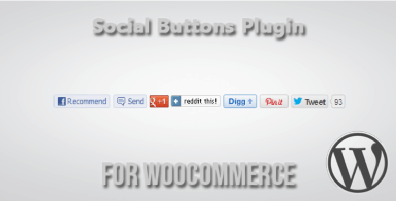Social Buttons for WooCommerce plugin
