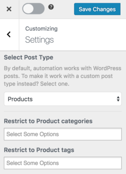 MailOptin WooCommerce products post type