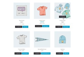 Add WooCommerce Quick View Buttons to Shop Page