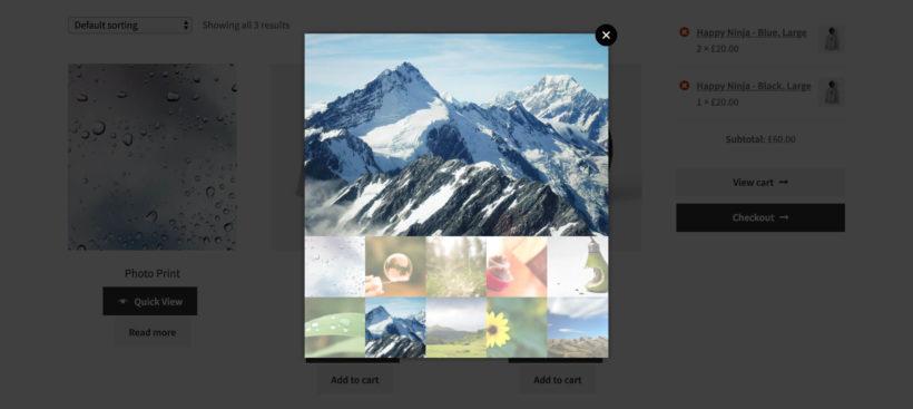 WooCommerce Gallery Lightbox Plugin