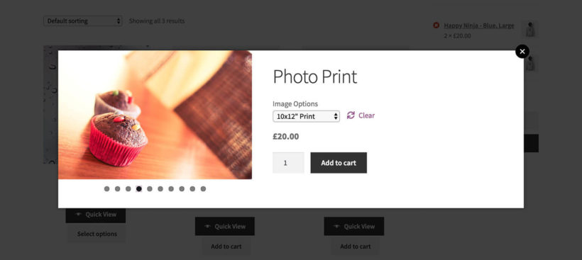 Lightbox for WooCommerce Image Gallery Plugin