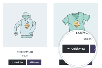 WooCommerce Quick View Buttons