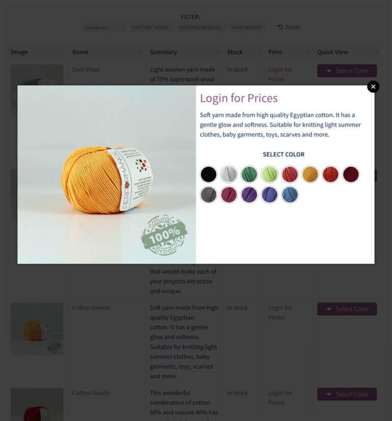 WooCommerce quick view wholesale plugin