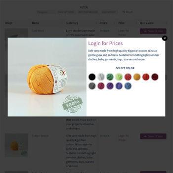 WooCommerce wholesale quick view plugin