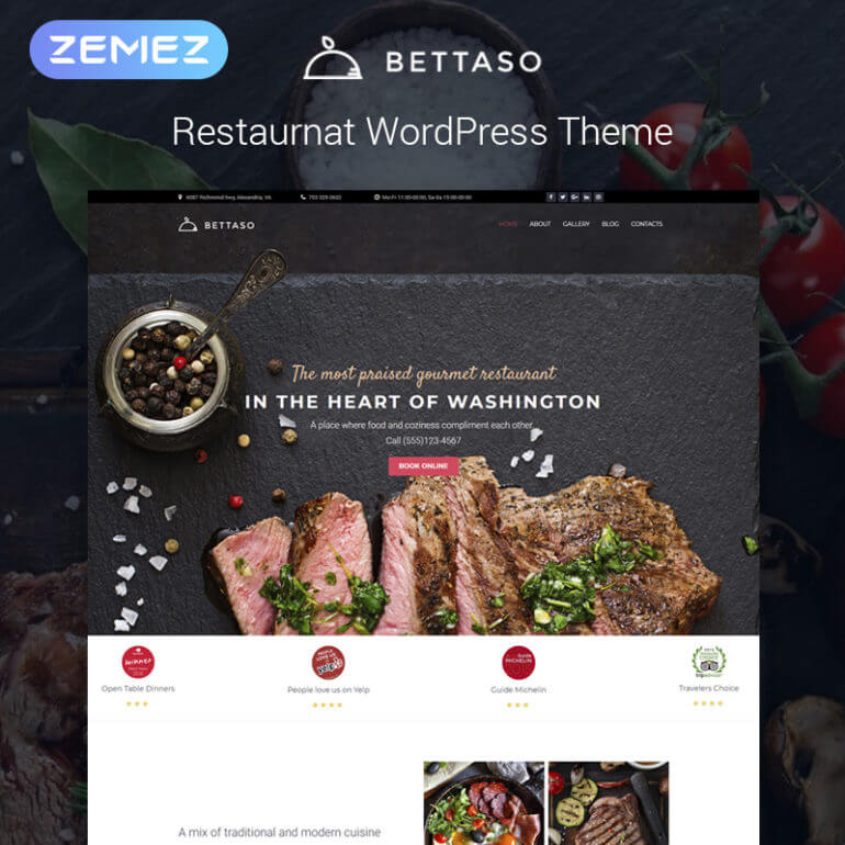 WordPress Barbecue theme
