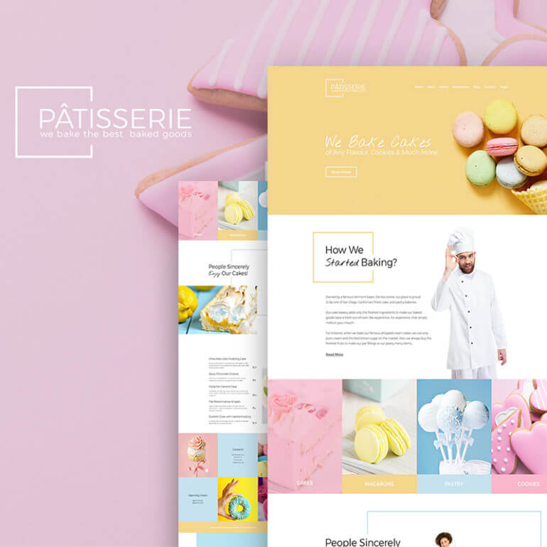 WordPress cake theme