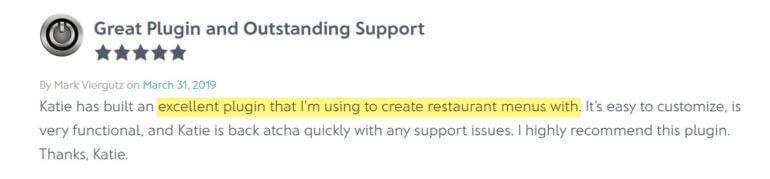 WordPress restaurant plugin review