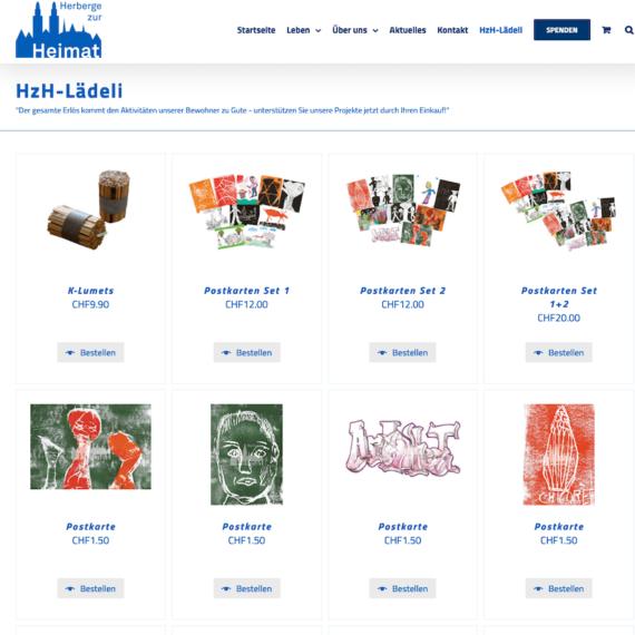Herberge zur Heimat using WooCommerce Quick View Pro plugin