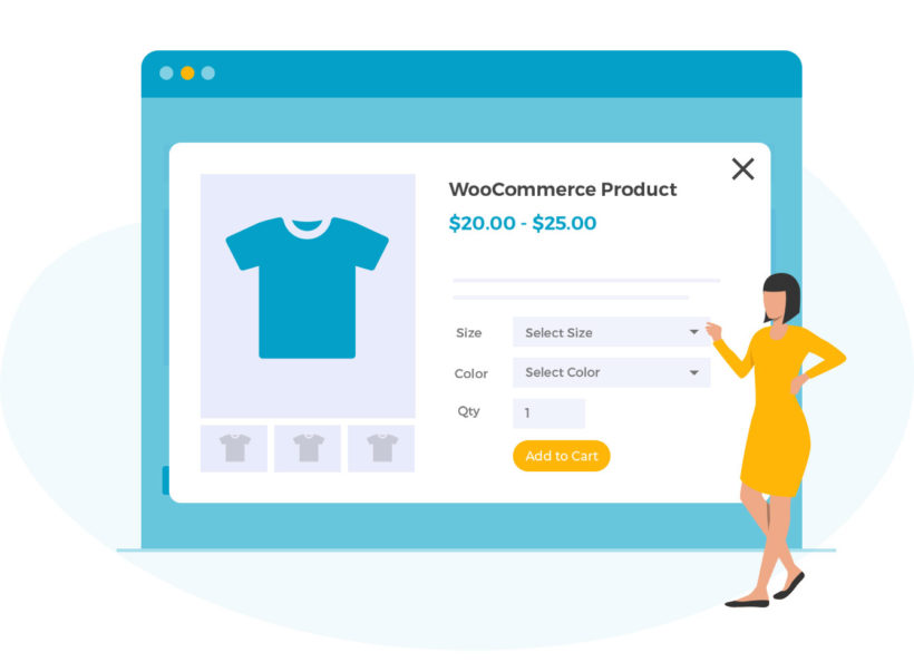 WooCommerce Quick View Pro Cropped