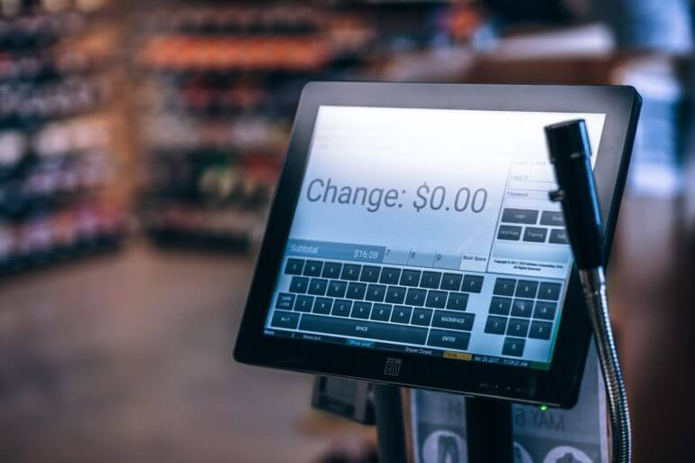 WooCommerce point of sale ordering system