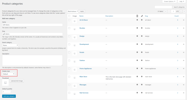 Setting default quantities for WooCommerce product categories