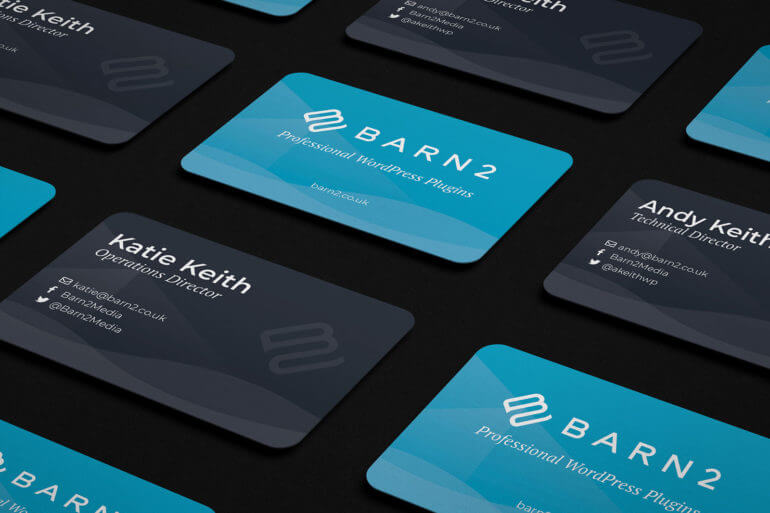 Barn2 business card design