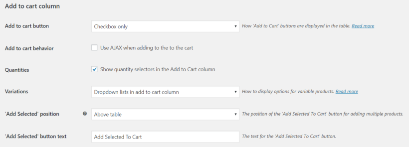 WooCommerce one page checkout options