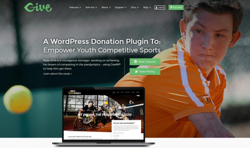 GiveWP WooCommerce donation plugin