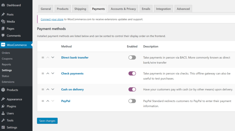 Configure checkout method for online proofing