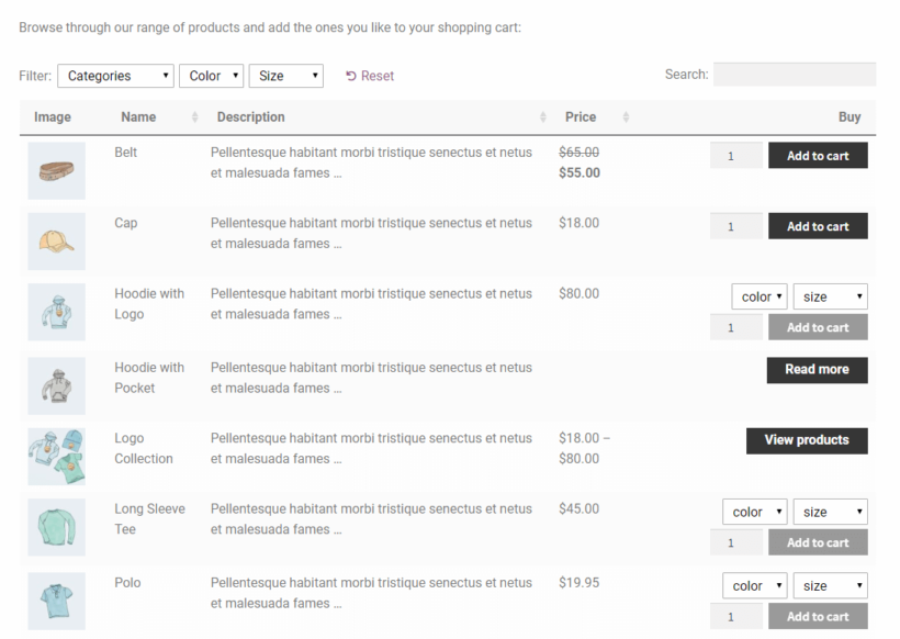 Change the number of WooCommerce products per page