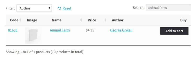 WooCommerce ebook store