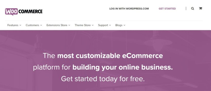 WooCommerce WordPress shopping cart