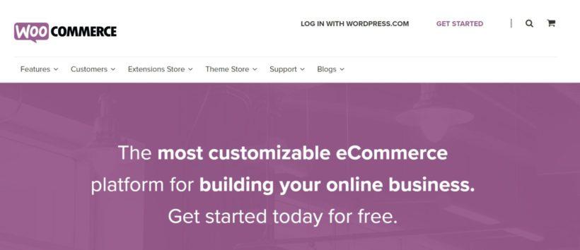 WooCommerce WordPress shopping cart
