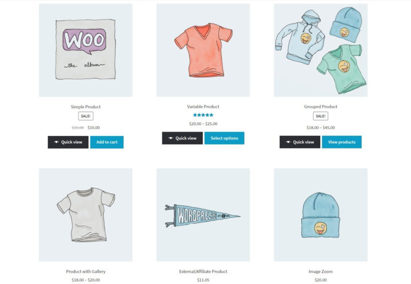 WooCommerce product quick view