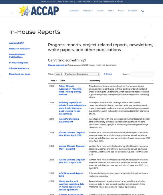 IARC WordPress reports library plugin