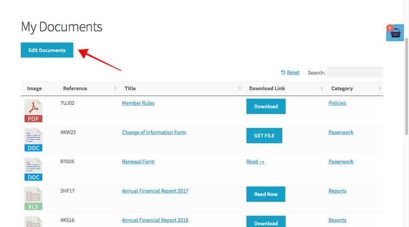 Add edit button to WordPress table