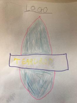 Draft Teardrop t-shirt logo