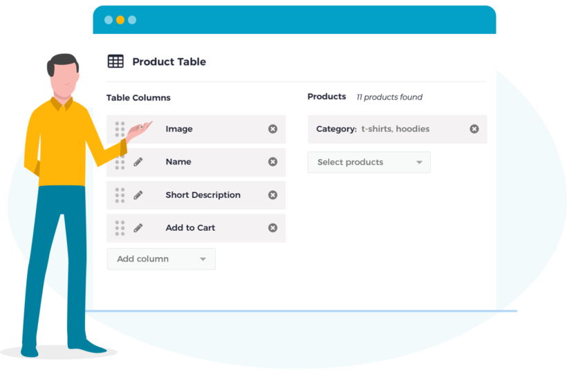 WooCommerce Product Table Gutenberg Block Plugin