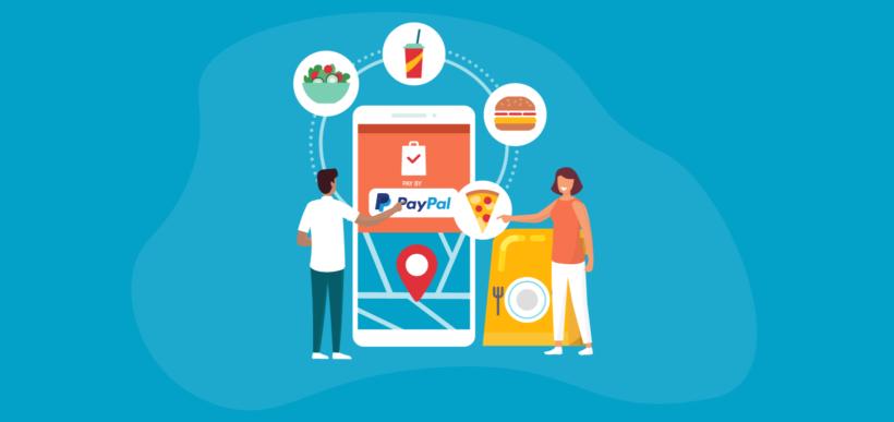 Order food PayPal