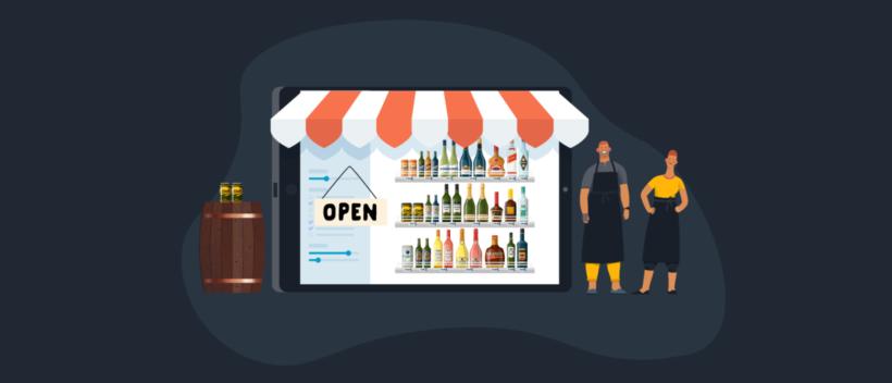 Sell beer online