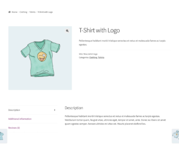 Single product page for guest users