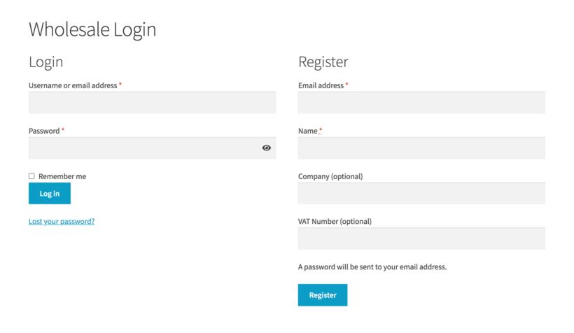 Wholesale custom registration form fields