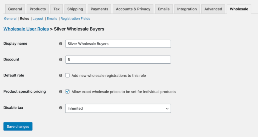 Global percentage discount for WooCommerce multiple prices per product