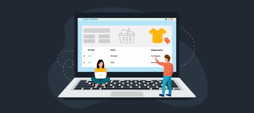 WooCommerce shipping by user role