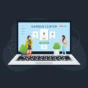 Garden center in WordPress