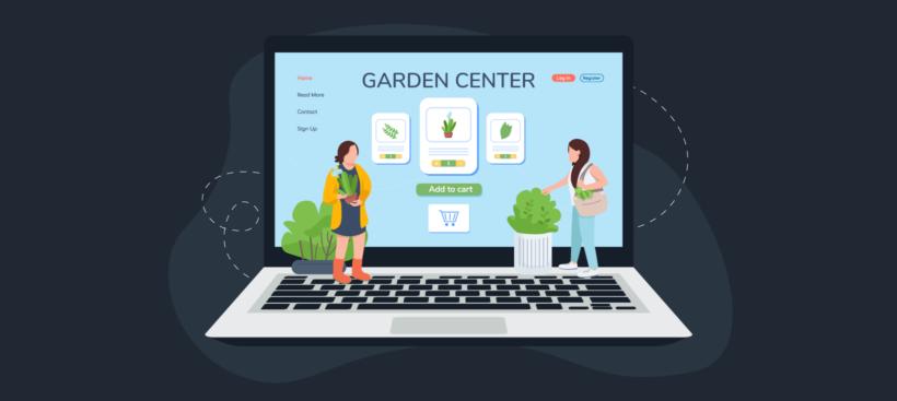 Garden center WordPress