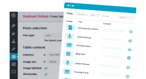 Posts Table Pro blog sidebar cta