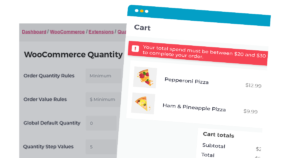 WooCommerce Quantity Manager side CTA