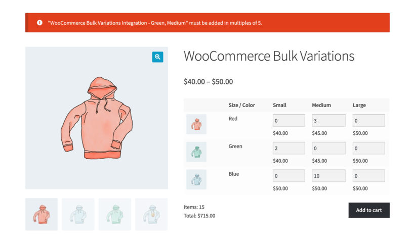 WooCommerce Bulk Variations Quantity Manager