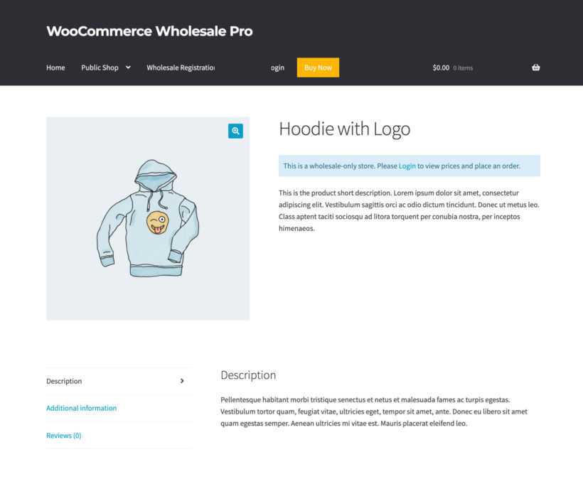 WooCommerce hide price until login alternate content