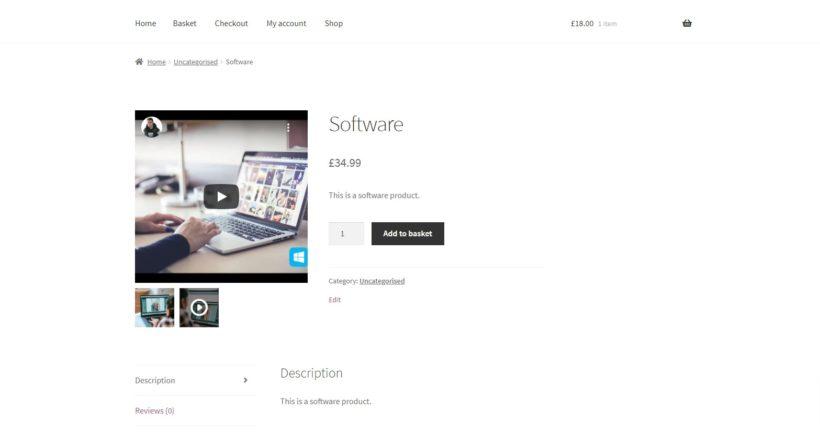 digital product video